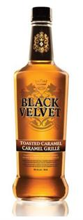Black Velvet Canadian Whisky Toasted Caramel 750ml
